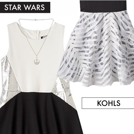Star Wars Dresses at Kohls featured on FANgirl Blog