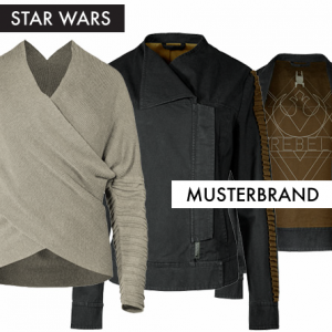 Rey and Jyn Fashion from Musterbrand featured on FANgirl Blog