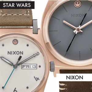 Star Wars Nixon Watches Rey featured on FANgirl Blog