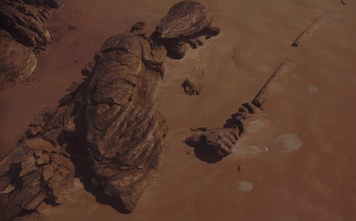 rogue-one-trailer-jedi-statue-jedha-sand