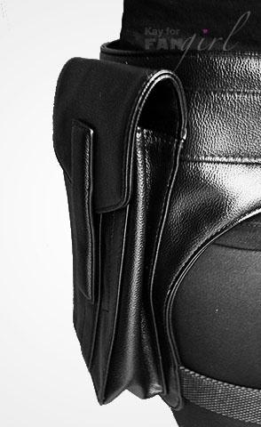 Black Widow Bag from ThinkGeek Side View