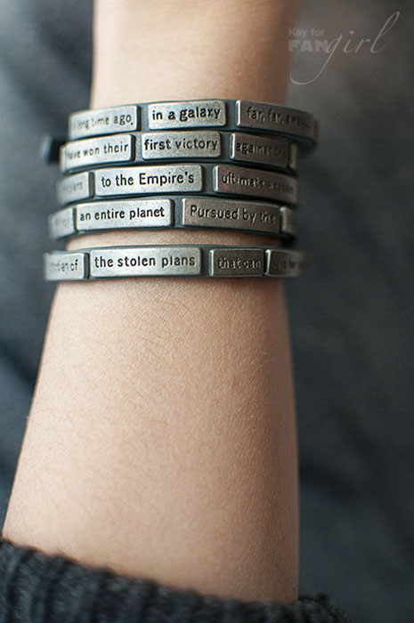 Star Wars Opening Crawl Wrap Bracelet Reviewed