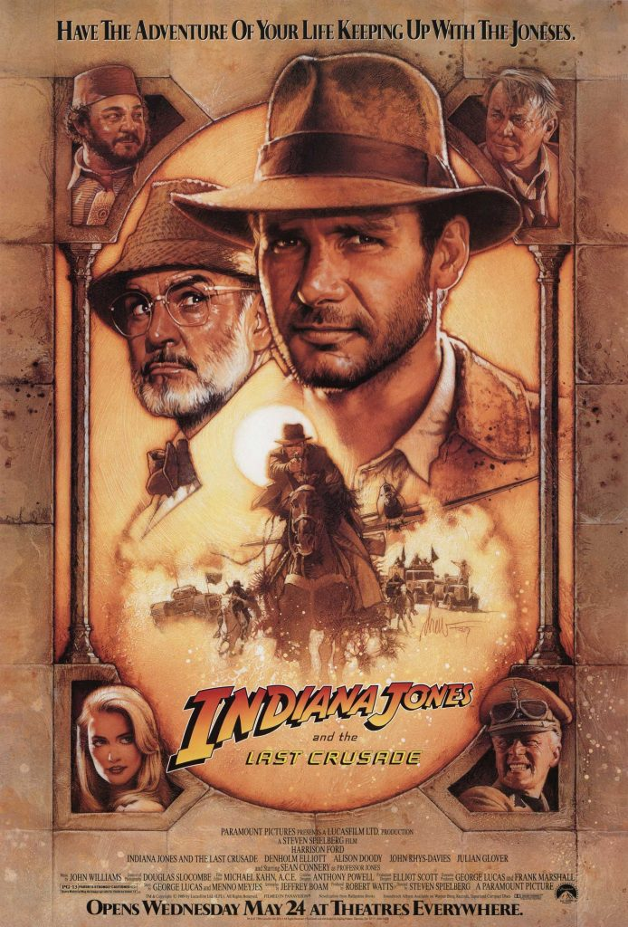 Indiana Jones and The Last Crusade Theatrical Poster