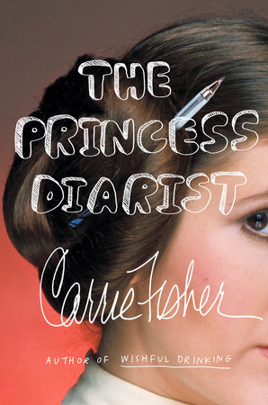 Carrie Fisher's The Princess Diarist cover