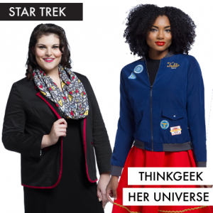 Her Universe Star Trek Capsule Collection at ThinkGeek