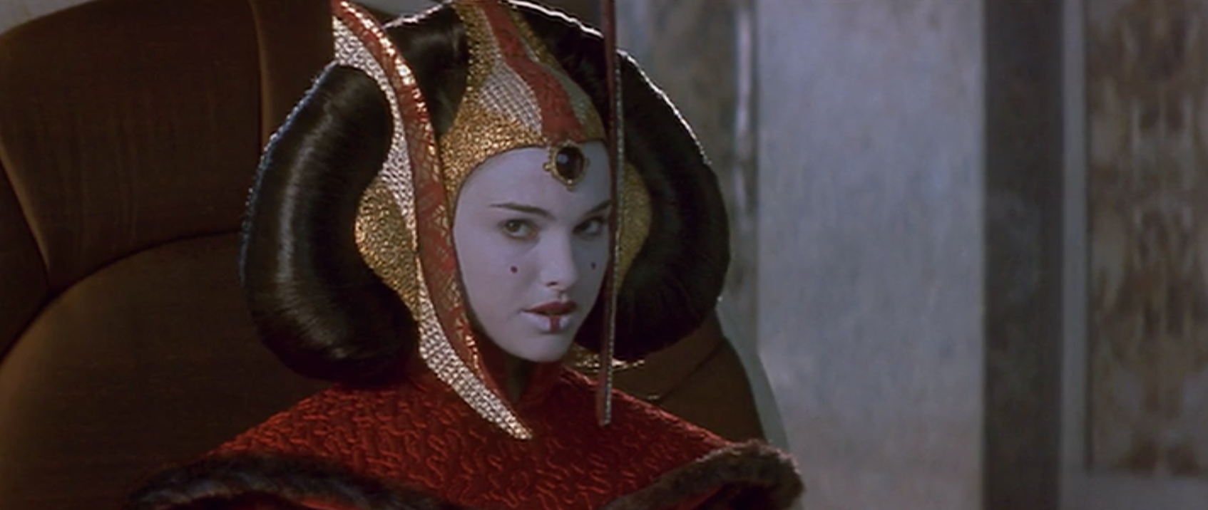 Amidala - queen outfit