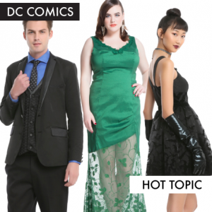 DC Comics Formal Wear from Hot Topic