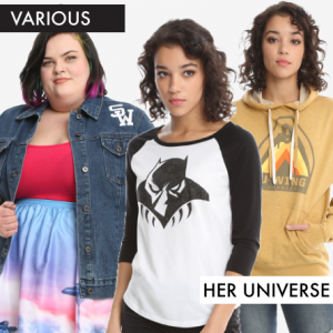New Fandom Clothing from Her Universe