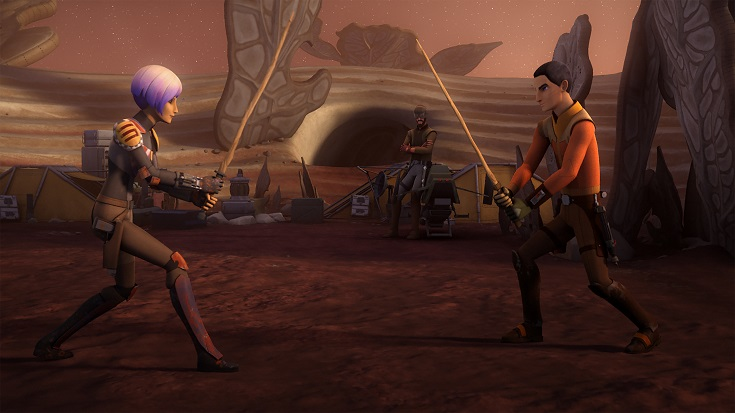 Rebels Trials Darksaber Sabine Ezra