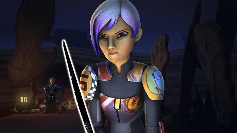 Rebels Trials Darksaber Sabine blade