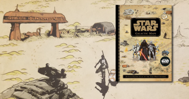 Star Wars Galactic Maps Reviewed by Kay on FANgirl Blog