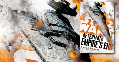 Star Wars Empire's End reviewed on FANgirl Blog