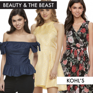 Beauty and the Beast Fashion from Kohls Featured on FANgirl Blog