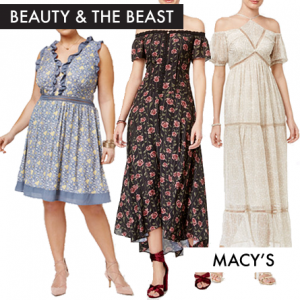 Beauty and the Beast Fashion at Macy's Featured on FANgirl Blog
