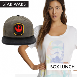 Star Wars Fashion from Box Lunch Featured on FANgirl Blog