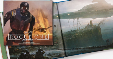 Art of Rogue One Reviewed on FANgirl Blog