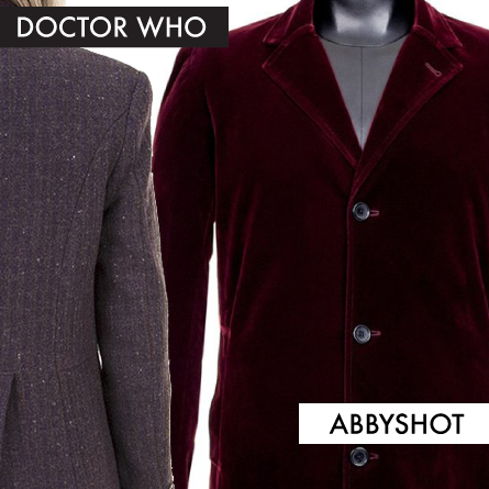 Doctor Who Coats from AbbyShot