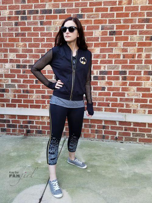 Batman Workout Wear from Her Universe x Kohls