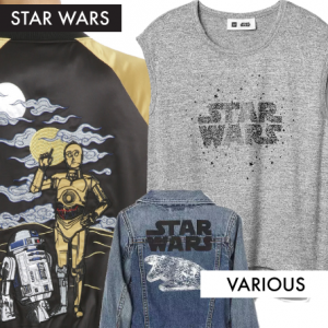 Star Wars jackets and shirt