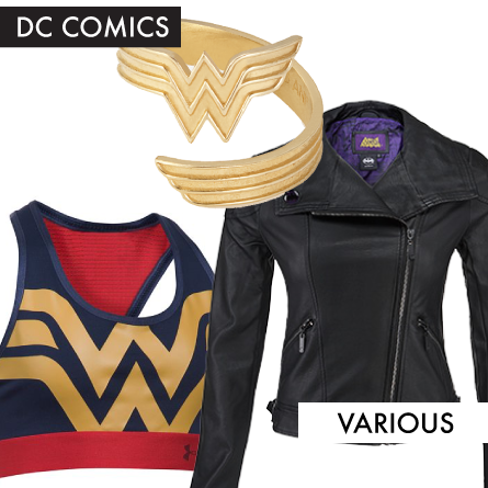 Wonder Woman and Batgirl Fashions from April
