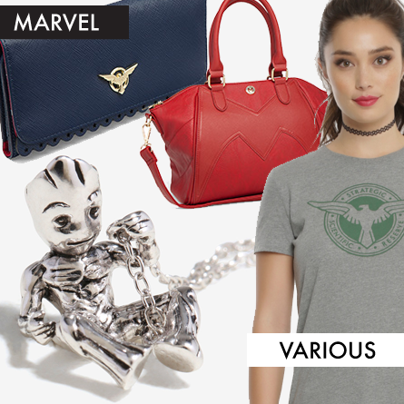 Marvel Accessories Including Baby Groot