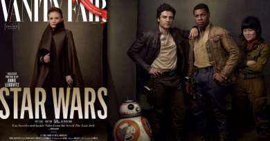 Star Wars Vanity Fair Digest on FANgirl Blog - The Last Jedi Edition