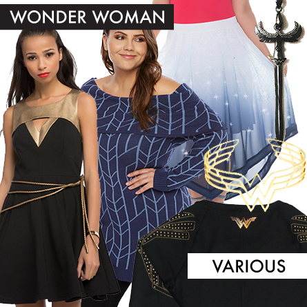 Wonder Woman Clothing