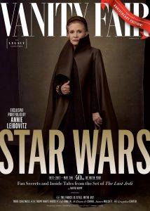 The Vanity Fair Leia Cover