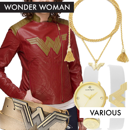 Wonder Woman Fashion from June