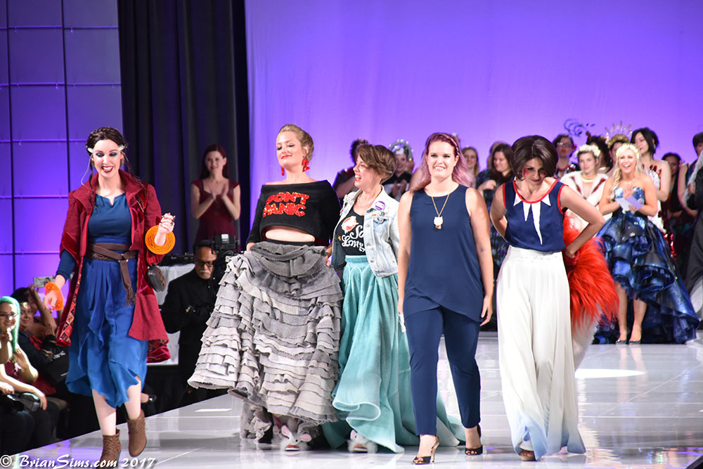 Her Universe Fashion Show 2017 Winning Designers