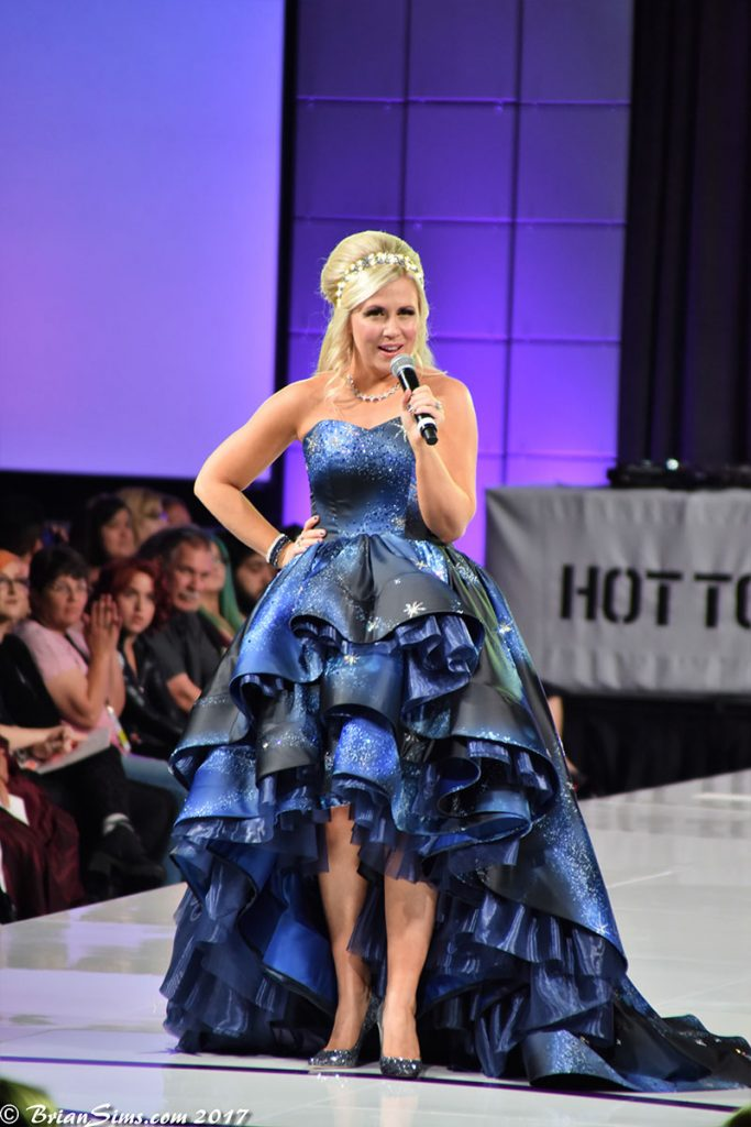 Ashely Eckstein at the Her Universe Fashion Show