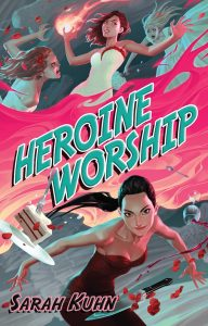 Heroine Worship Book Cover for FANgirl book review