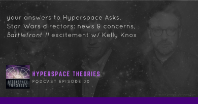 Hyperspace Theories Episode 30 Star Wars Podcast Summary