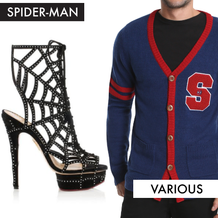 Spider-Man Fashion July Picks