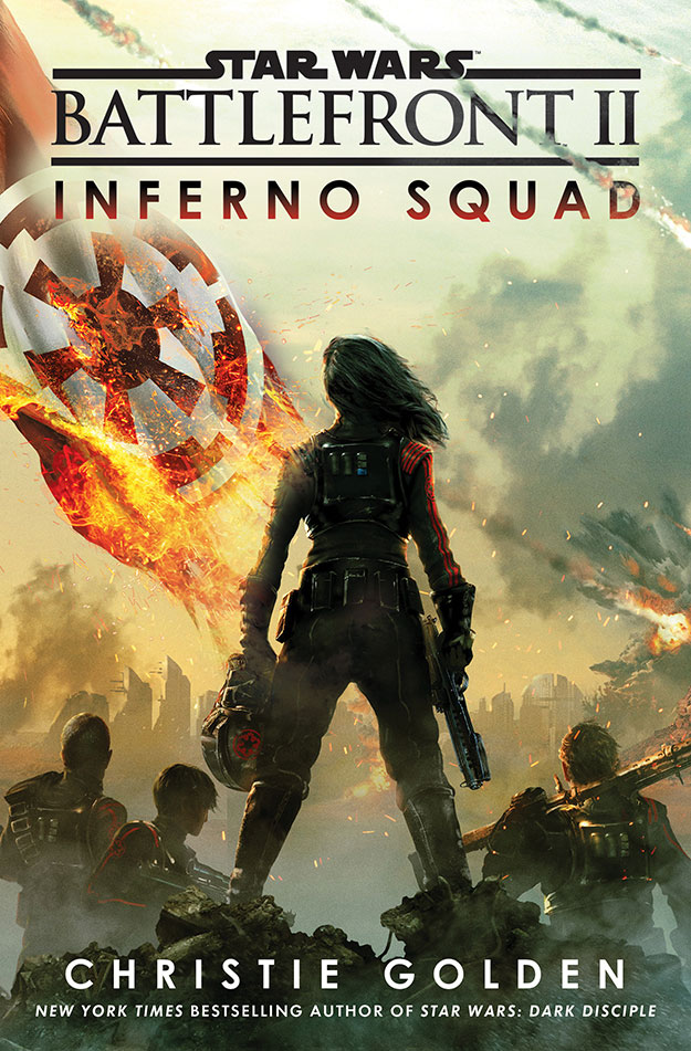 Star Wars Inferno Squad Book Cover