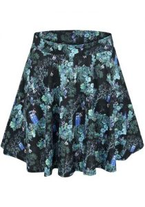 Floral Doctor Who Skirt