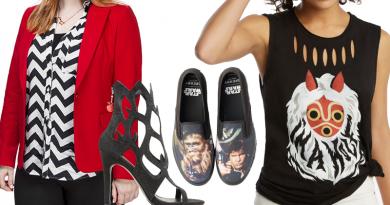 Kay's August Geek Fashion Picks on FANgirl Blog