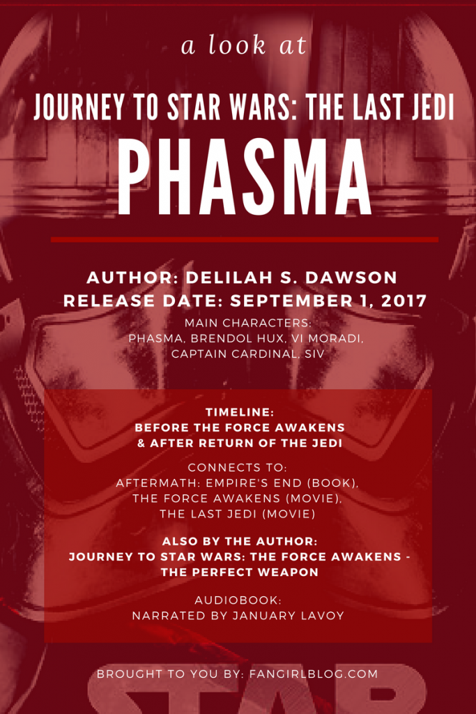 Facts about the Phasma Novel