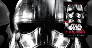 Phasma Novel Reviewed on FANgirl Blog Featured