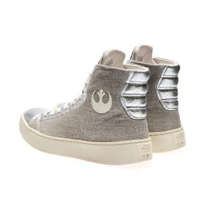 Po-Zu Silver Star Wars Shoes