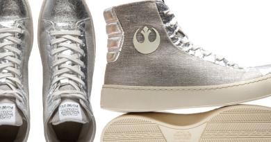 Silver Star Wars Shoes Po-Zu Limited Edition Featured on FANgirl Blog