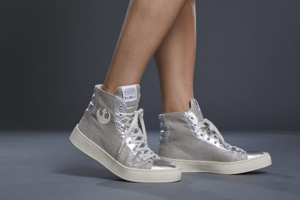 Silver Star Wars Shoes Po-Zu Limited Edition