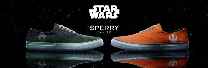 Sperry Star Wars Shoes Ad