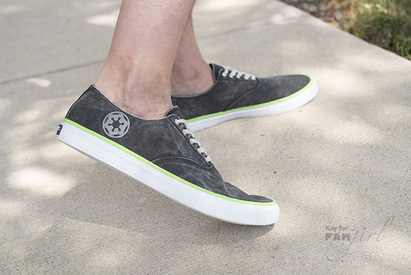 Star Wars Shoes Death Star Design by Sperry