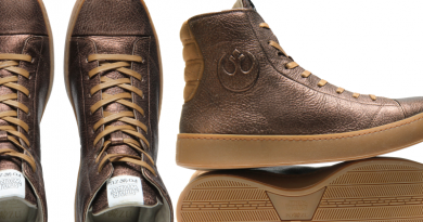 Bronze Star Wars Shoes by Po-Zu Featured on FANgirl Blog