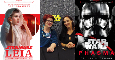 Journey to the Last Jedi Book Launch at Dragon Con Featured on FANgirl Blog