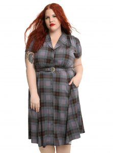 Outlander 1940s Shirt Dress
