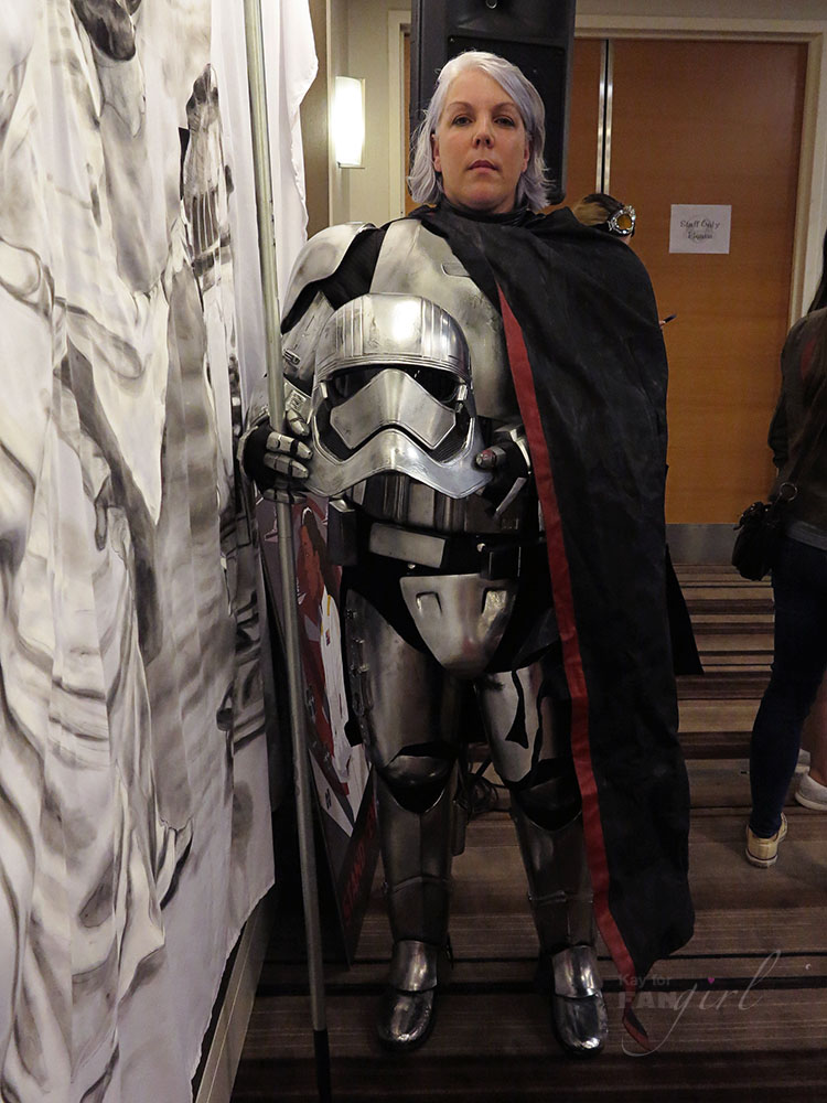 Captain Phasma at Phasma Book Launch