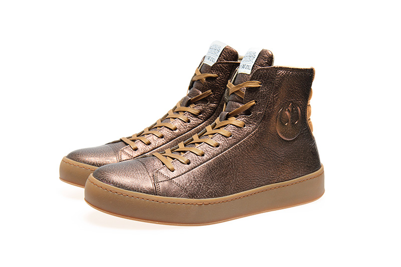 Po-Zu Star Wars Bronze Limited Edition Sneakers