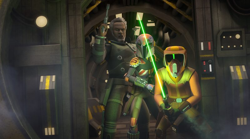Star Wars Rebels New Time on Monday